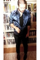 H&M jacket - American Apparel jacket - American Apparel t-shirt - Cheap Monday j