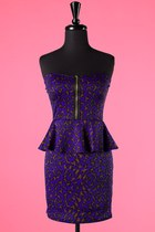 peplum dress dress