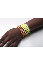 neon bracelet bracelet