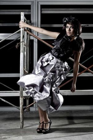 silver Ionica Ibrahan dress