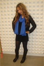 American Apparel dress - Target tights - Chloe boots - Old Navy jacket - 31 phil
