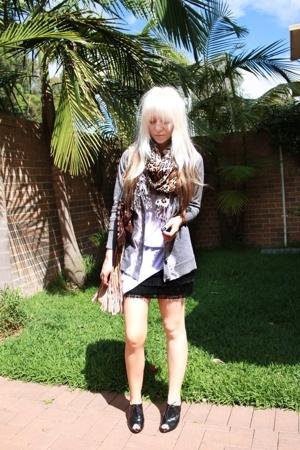 Witchery - LAB shirt - supre shirt - Sportsgirl purse