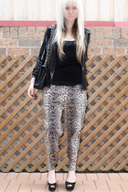 Dotti top - vintage pants - Urban Soul shoes - supre jacket