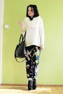 Ivory-reserved-sweater-black-bag-navy-pepco-pants