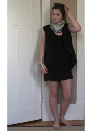 Zara vest - wilfred dress