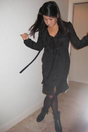 Eryn Brinie dress - Sigerson Morrison boots