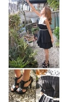 lamilla dress - Zara shoes