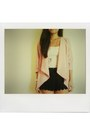 Blazer-scalloped-shorts