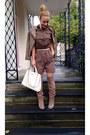 Tan-leather-aldo-boots-tan-leather-primark-jacket-white-leather-mango-bag