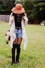 Black-wanted-boots-bronze-new-york-and-company-hat-beige-kierra-sweater