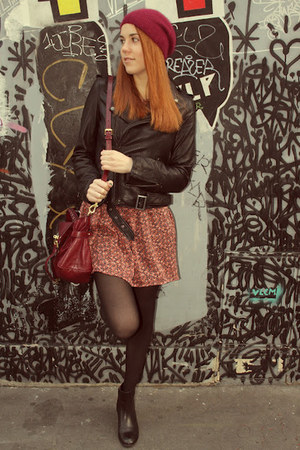 Maje jacket - Dahlia dress - Mulberry bag