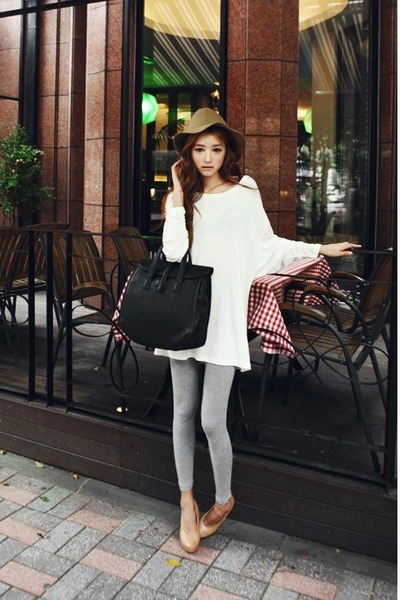 tan Zara pumps - silver Style Nanda leggings