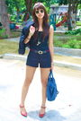 White-aranaz-black-forever-21-gucci-black-mango-shorts-red-cmg-blue