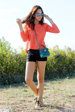 carrot orange Topshop sweater