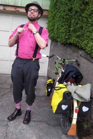 H&M shirt - Bicycle Fixation pants