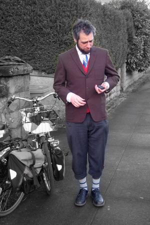 jacket - Bicycle Fixation pants