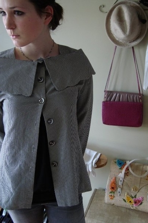 vintage item jacket - Urban Planet shirt - Urban Outfitters jeans