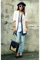 white Sepaonlinemultiplycom necklace - blue Tomato jeans