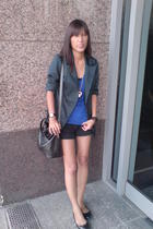 American Apparel shirt - from Thailand blazer - from Multiply shorts - from Thai