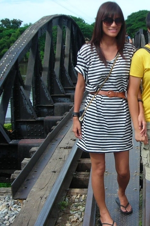 from Thailand dress - thrifted belt - thrifted accessories - prp shoes