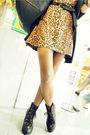 Brown-archvie-clothing-dress-black-bazaar-cardigan-black-bazaar-bag-brown-
