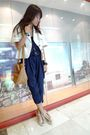 Beige-thrifted-coat-blue-pansuit-from-fabsntrends-pants-gold-elle-shoes-go