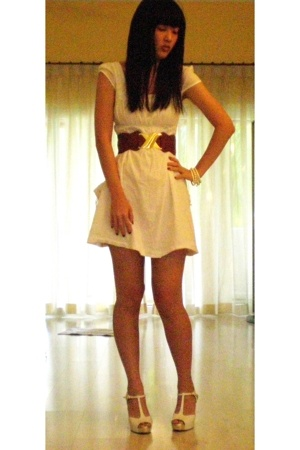 Mango dress - Charles & Keith shoes - Sportsgirl belt