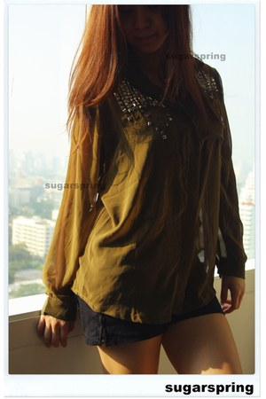 American Apparel shorts - chiffon sugarspringonlineshop shirt