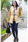 Choies-boots-sheinside-coat-romwe-sweater-sheinside-vest
