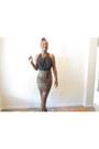Black-halter-forever-21-shirt-leopard-print-forever-21-skirt