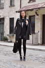 Navy-miu-miu-shoes-dark-gray-pixie-market-jacket-navy-vintage-blazer