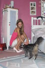Pink-aeropostale-top-white-zero-skirt-pink-yesstyle-shoes-silver-thomas-sa