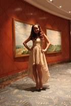 gold Forever 21 dress