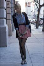 pink American Apparel skirt