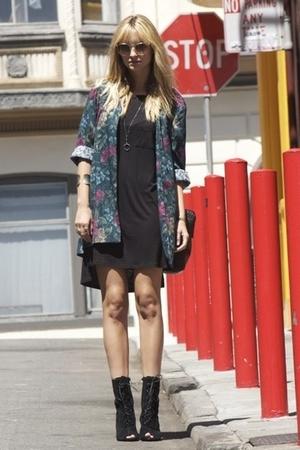 Alexander Wang dress - blazer - Deena & Ozzy shoes
