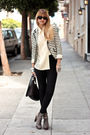 White-bird-by-juicy-couture-blazer-gray-sam-edleman-via-nastygal-shoes-black