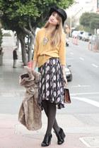 black Erin Fetherston dress - black Perre Hardy for Gap shoes