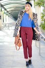 Ruby-red-asos-pants-blue-asos-sweater-black-alexander-wang-wedges