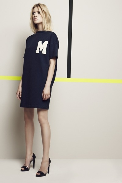navy MSGM dress