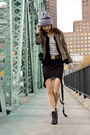 Black-alexander-wang-shoes-dark-khaki-marciano-jacket
