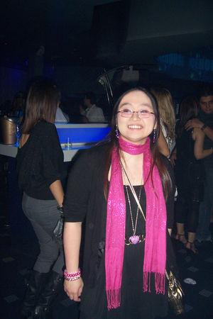 pink Primark scarf - black Zara ebay dress - black H&M cardigan