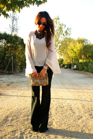 Zara jeans - Topshop cape