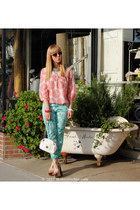 dVf loves Current Elliott jeans - Calypso for Target blouse