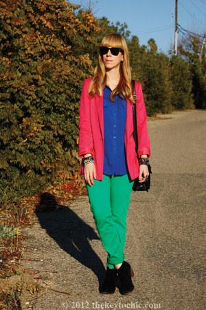 H&M jeans - jamison Dolce Vita boots - H&M blazer