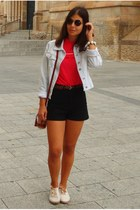 firmoo sunglasses - Primark shoes - Stradivarius jacket - Primark bag