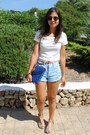 Forever-21-shorts-forever-21-top-bershka-sandals