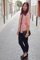 Stradivarius shirt - Zara jeans - Mango bag - Primark loafers