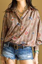 Brown-diane-von-furstenberg-blouse
