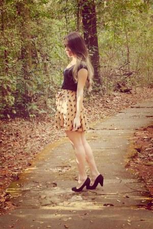 print cat skirt