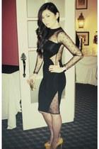 asos dress - Christian Louboutin heels